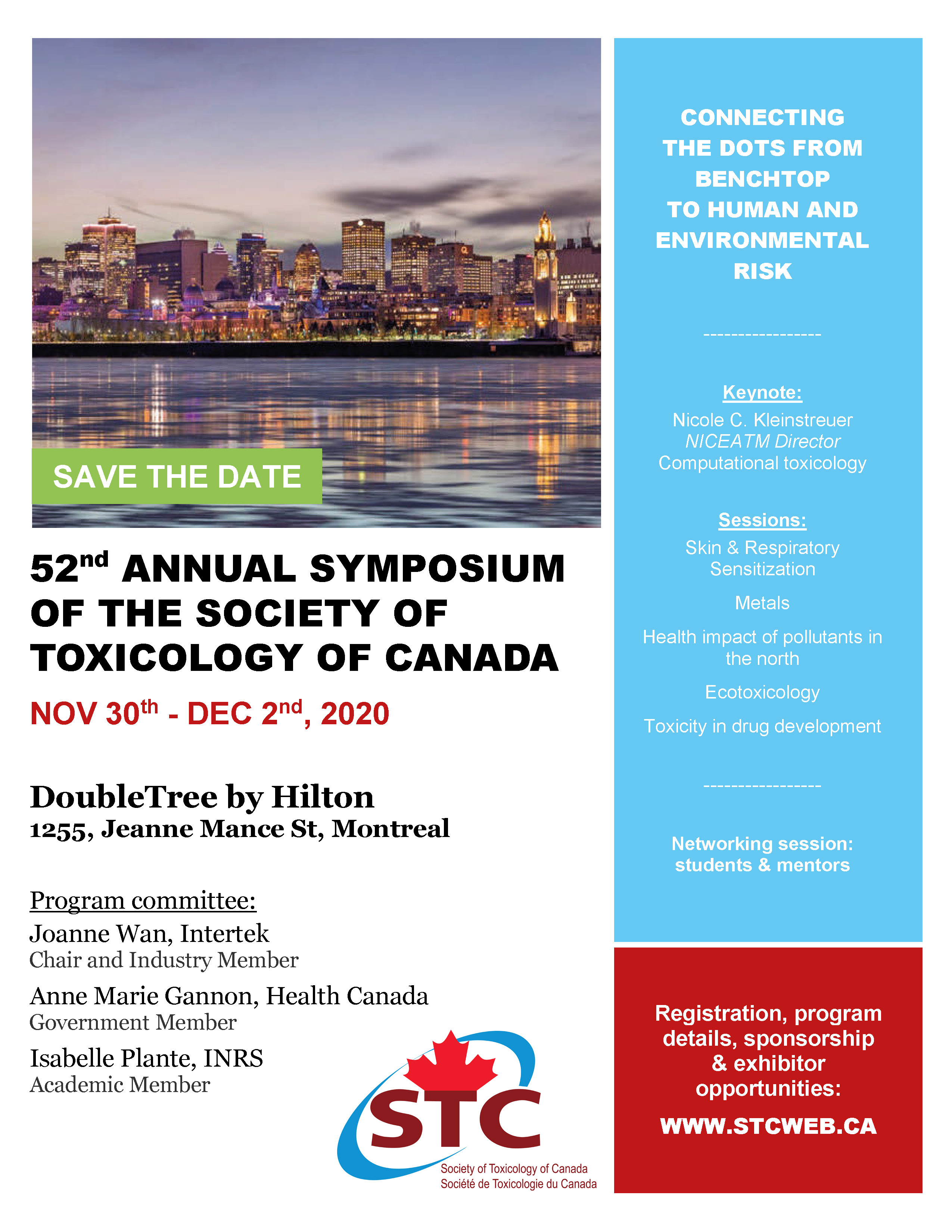 STC 52nd symposium - Save the date